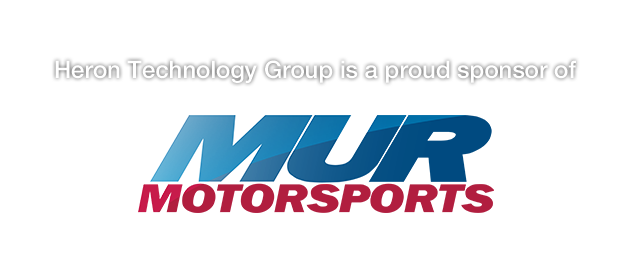 Heron Technology Group is a proud sponsor of MUR Motorsports